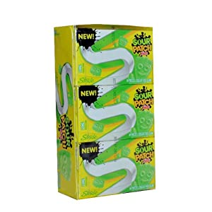 Amazon.com: NEW Stride Sour Patch Kids Sugar Free Gum
