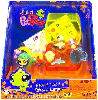 Buy Low Price Hasbro Littlest Pet Shop Teeniest Tiniest Take-A-Longs Mini Figure Iguana (B002A165AQ)