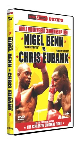 Nigel Benn Vs Chris Eubank - World Middleweight Championship 1990 [DVD]