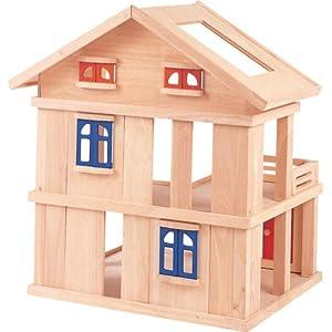 Plan Toys Terrace Dollhouse - Compact=