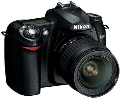 Nikon D50 6.1MP Digital SLR Camera