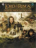img - for The Lord of the Rings Instrumental Solos for Strings: Violin (with Piano Acc.), Book & CD book / textbook / text book