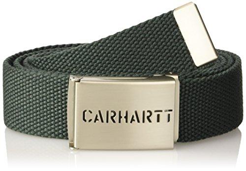 Carhartt, Chicago Clip Belt - CINTURE, unisex, colore laurel, taglia Taglia unica