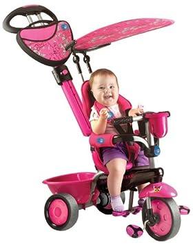 Smart Trike Zoo rose Tricycle monter sur Poussette Smart Shop Trike enfants