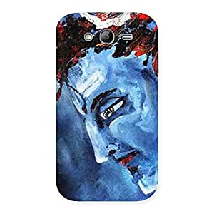 Impressive Mahadev Blue Color Print Back Case Cover for Galaxy Grand Neo
