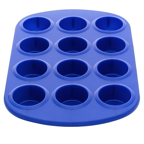 Silicone Solutions Mini Muffin Pan - Blue - Buy Silicone Solutions Mini Muffin Pan - Blue - Purchase Silicone Solutions Mini Muffin Pan - Blue (, Home & Garden, Categories, Kitchen & Dining, Cookware & Baking, Baking, Muffin & Popover Pans)