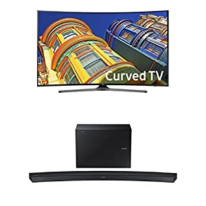Samsung UN55KU6500 Curved 55-Inch TV with HW-J6500R Curved Soundbar