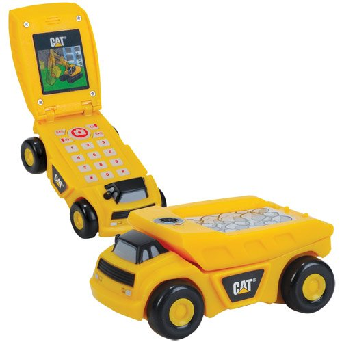 Amazon.com: Caterpillar CAT Kids Talking Truck Cell Phone