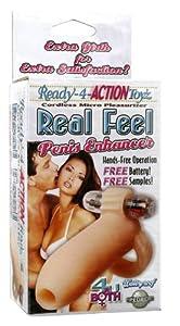 Ready for Action Real Feel Penis Enhancer, Flesh