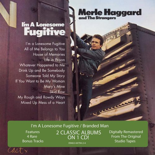 MERLE HAGGARD - Lonesome Fugitive/Branded Man - Zortam Music