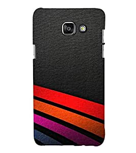 EPICCASE Road colorful lines Mobile Back Case Cover For Samsung Galaxy A3 (2016) (Designer Case)