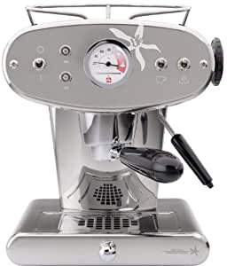 Illy Francis Francis! X1 Iperespresso Machines in Stainless Steel with 4 Free Capsules Boxes and More...