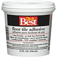 Do it Best Clear Thin Spread Floor Tile Adhesive-QT FLOOR TILE ADHESIVE