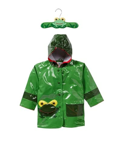 Kidorable Frog Raincoat  [Green]