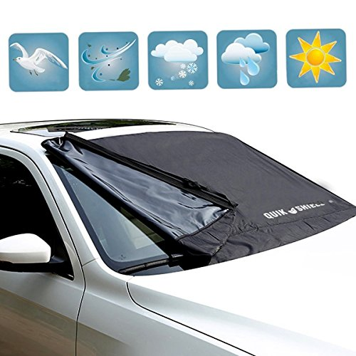KDL Windshield Snow Covers Oxford Cloth Windshield Sun Snow Cover Fits Most Cars,CRVs And SUVs-M (Windshield Ice Cover compare prices)