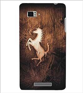 LENNOVO VIBE K910 HORSE Designer Back Cover Case By PRINTSWAG