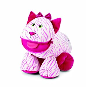 Stuffies - Whisper the Cat (Pink Stuffed Plush Animal)