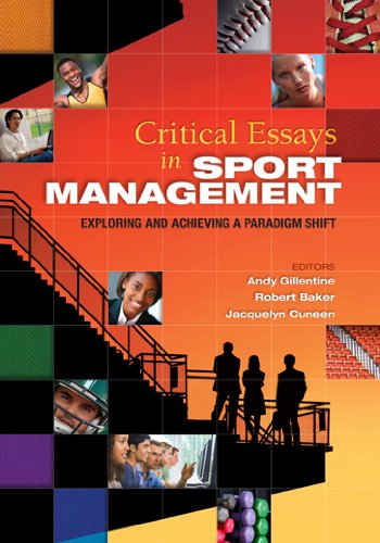 Crtical Essays in Sport Management: Exploring and...