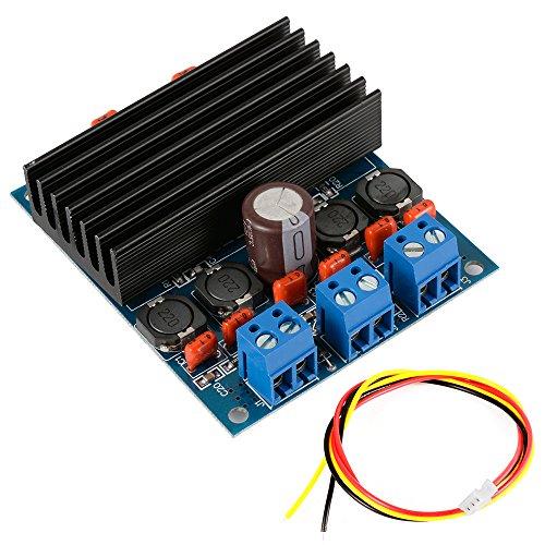 XCSOURCE TDA7492 bordo dell'amplificatore di 2x50W Classe D digitale Alimentazione + dispositivo di raffreddamento AMP Consiglio TE398