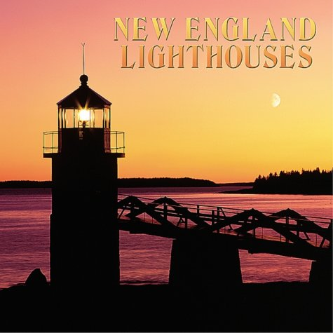 New England Lighthouses Fine Art/Maps 2001 Calendar
