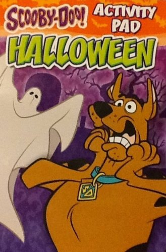 "Scooby-Doo Halloween Coloring & Activity Flip Top Pad: 7"" X 5"" 64 Pages!!! Spooky Puzzles & Games!"