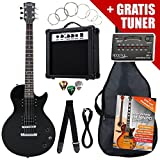 Rocktile Single Cut Pack Komplettset Power E-Gitarre Schwarz
