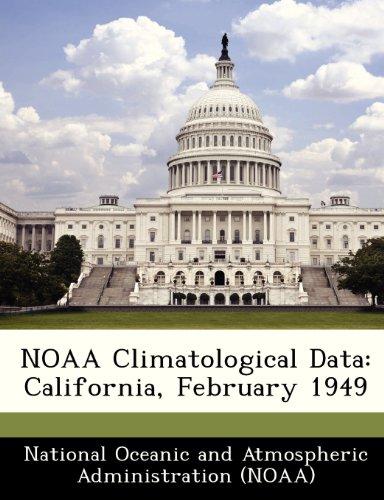 NOAA Climatological Data: California, February 1949