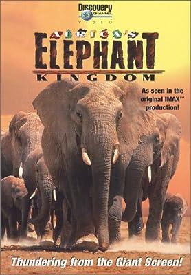 Africa's Elephant Kingdom (Large Format)