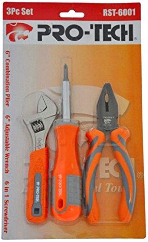 RST-6001 3 Pc Tool Set