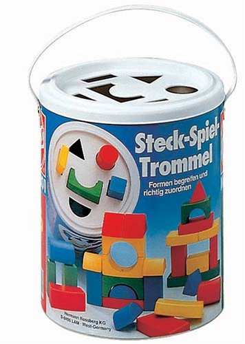 Shape Sorter Drum (30 pc.), blue, yellow, red, green - Buy Shape Sorter Drum (30 pc.), blue, yellow, red, green - Purchase Shape Sorter Drum (30 pc.), blue, yellow, red, green (Heros, Toys & Games,Categories,Construction Blocks & Models)