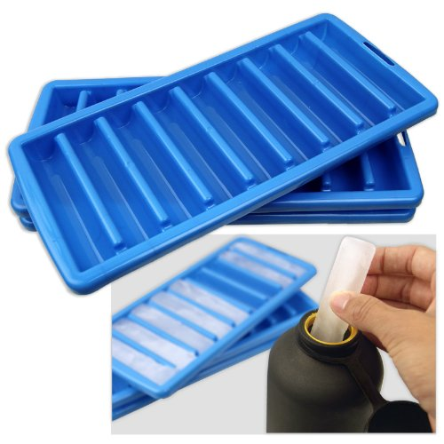 Skinny Ice Cube Trays - Narrow Water Sports Bottles