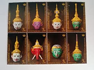 Amazon.com: Thai Heritage Conservation Day 2013 Commemorative stamps