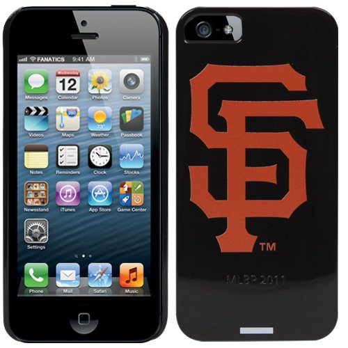 Great Price Coveroo San Francisco Giants - SF design on a Black iPhone 5 Thinshield Snap-On Case