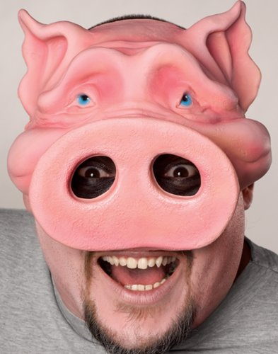 Pig Boy Chinless Mask O/S