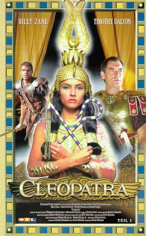 Cleopatra, Teil 1 & 2 (2 VHS)
