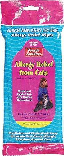 """Cat Allergy Reducing Wipes - .75"""" X 5"""" X 12"""""""