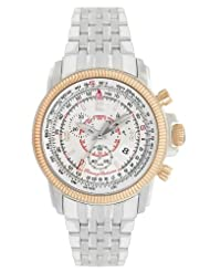 Tommy Bahama Swiss Men's TB3042 Panama Pilot Rose Gold Round Chronograph Pilot Watch