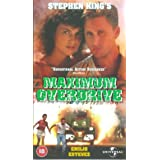 Maximum Overdrive [UK IMPORT]