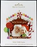 2011 Hallmark Sittin With Santa photo holder Ornament