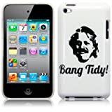 APPLE IPOD TOUCH 4TH GEN BANG TIDY! IMAGE BACK COVER CASE / SHELL / SHIELD PART OF THE QUBITS ACCESSORIES RANGEby Qubits
