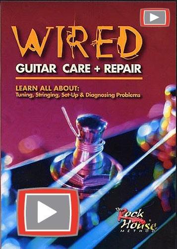 Wired Guitar Care + Repair