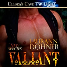 Valiant: New Species, Book 3 Audiobook by Laurann Dohner Narrated by Vanessa Chambers
