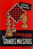 COMO PIENSAN LOS GRANDES MAESTROS (842700253X) by SCHMIDT, PAUL