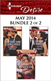 Harlequin Desire May 2014 - Bundle 2 of 2: From Single Mom to Secret Heiress\Carosellis Accidental Heir\A Merger by Marriage