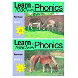 'Learn To Read With Phonics' Pre-Readers, 2 book box set. (Fun, colour in, complete phonic reading scheme. Proven to teach children to read in just 8 booksby Sally Jones