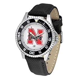 Nebraska Cornhuskers NCAA Competitor Mens Watch by SunTime