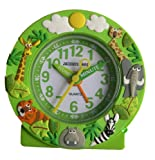 JAQUES FAREL Childrens Jungle Alarm Clock
