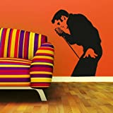 Elvis Presley Celeb Wall Transfer / Big Wall Decor / Celebrity Wall Sticker ce6