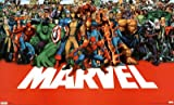 Marvel Heroes Poster Print, 34x22 Movie Poster Print, 34x22