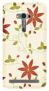 TrilMil Printed Designer Mobile Case Back Cover For Asus Zenfone 2 Selfie ZD551KL